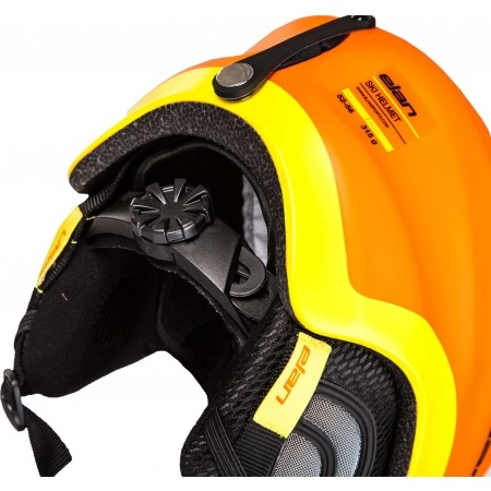 Kinder Skihelm - Elan TEAM ORANGE - 4