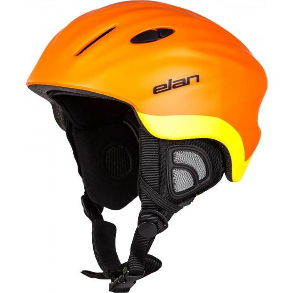 Elan TEAM ORANGE žlutá 52-56 - Dětská lyžařská helma
