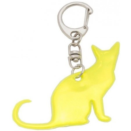 CAT KEY REFLEX - Reflective Key Chain - Profilite CAT KEY REFLEX