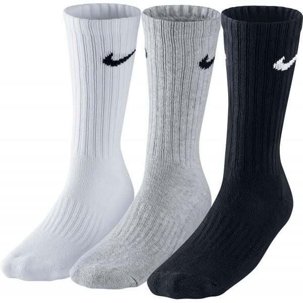 Nike 3PPK VALUE COTTON CREW - Športové ponožky