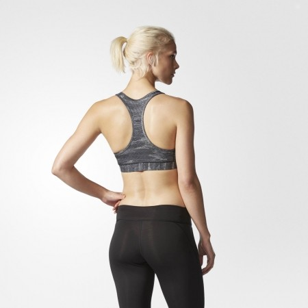 Дамски спортен сутиен - adidas TECHFIT BRA HEATHER PRINT - 5