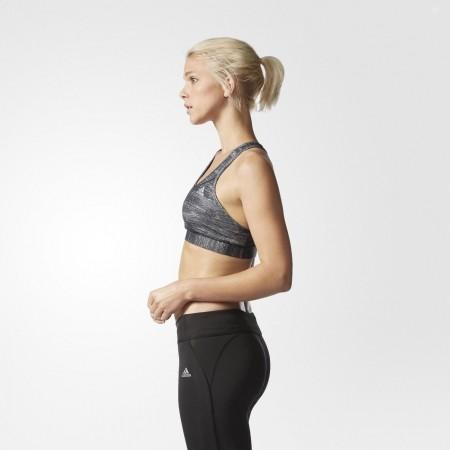 Дамски спортен сутиен - adidas TECHFIT BRA HEATHER PRINT - 6