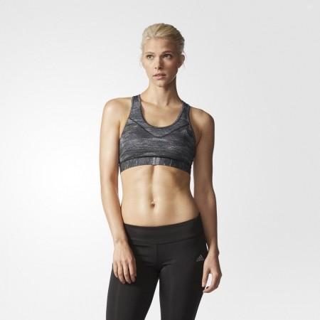 Дамски спортен сутиен - adidas TECHFIT BRA HEATHER PRINT - 4