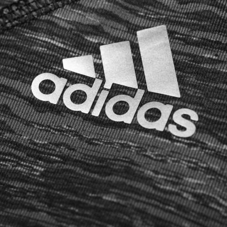 Дамски спортен сутиен - adidas TECHFIT BRA HEATHER PRINT - 7