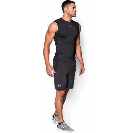 Pánské kompresní triko bez rukávu - Under Armour HEATGEAR ARMOUR SLEEVELESS COMPRESSION T - 4