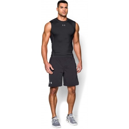 Pánské kompresní triko bez rukávu - Under Armour HEATGEAR ARMOUR SLEEVELESS COMPRESSION T - 5