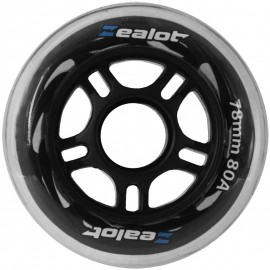 Zealot WHEELS 78X24MM - Rollen 4er Set - Zealot