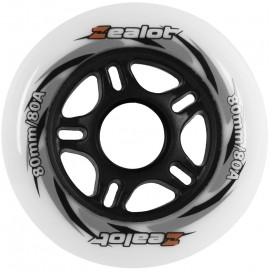 Zealot WHEELS 80X24MM - Sada 4 koliesok