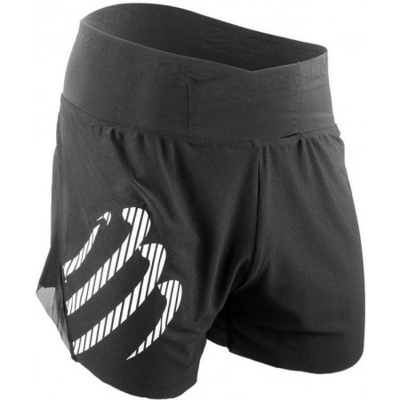 Men's running shorts - Compressport RACING OVERSHORT - 1