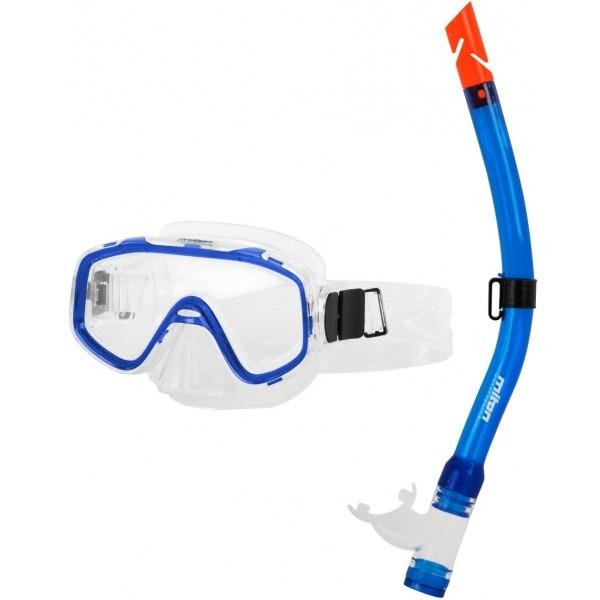 Miton NEPTUN RIVER JUNIOR niebieski  - Zestaw do nurkowania młodzieżowy