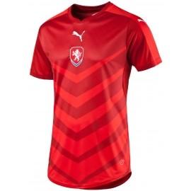 Puma CZECH REPUBLIC HOME REPLICA SHIRT CHILI - Replika fotbalového dresu