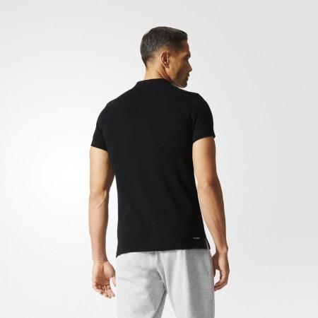 Мъжка тениска с яка - adidas ESS YD POLO - 4
