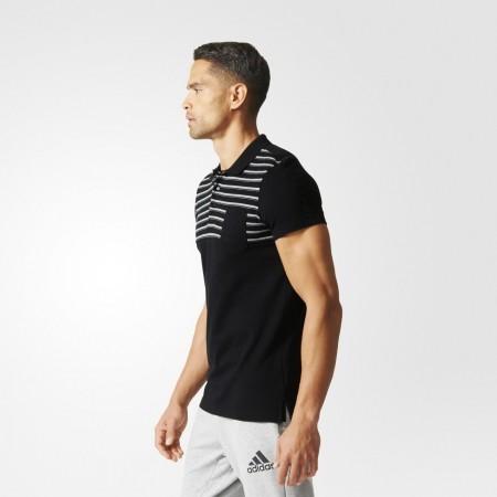 Мъжка тениска с яка - adidas ESS YD POLO - 5