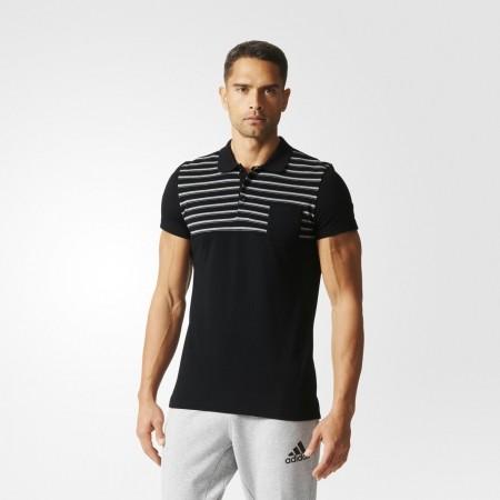 Мъжка тениска с яка - adidas ESS YD POLO - 3