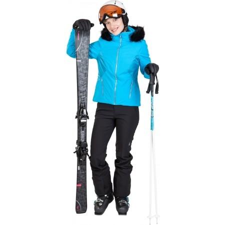 Dámska lyžiarska bunda - Spyder WOMEN´S GEM FAUX FUR JACKET - 3