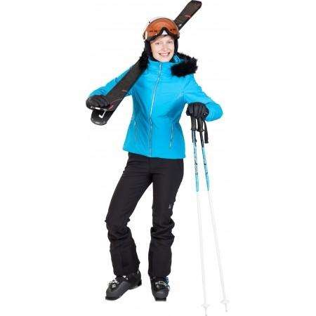 Dámska lyžiarska bunda - Spyder WOMEN´S GEM FAUX FUR JACKET - 4