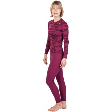 Women's functional pants - Odlo ORIGINALS WARM XMAS PANT - 4