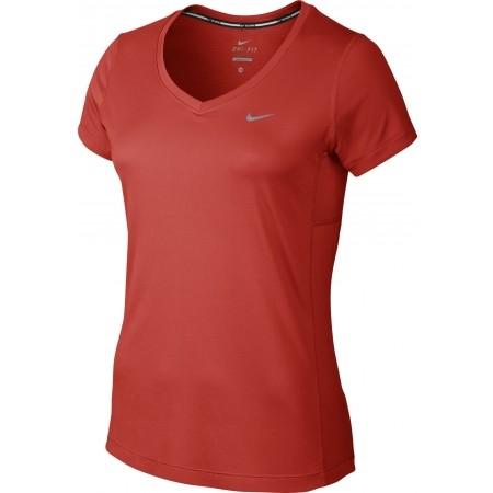 d8baa697f3 Női póló futáshoz - Nike MILER V-NECK - 1