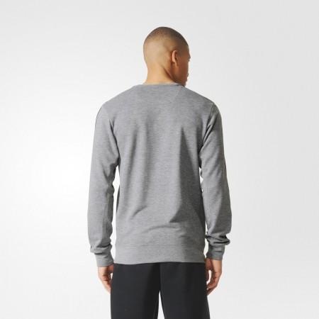 Men's hoodie - adidas ESS 3S CREW FT - 5