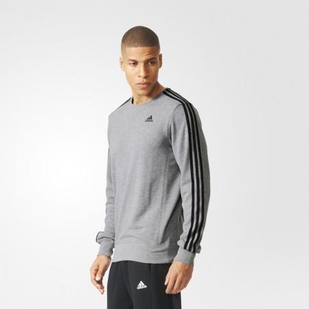 Men's hoodie - adidas ESS 3S CREW FT - 4