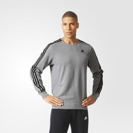 Men's hoodie - adidas ESS 3S CREW FT - 3