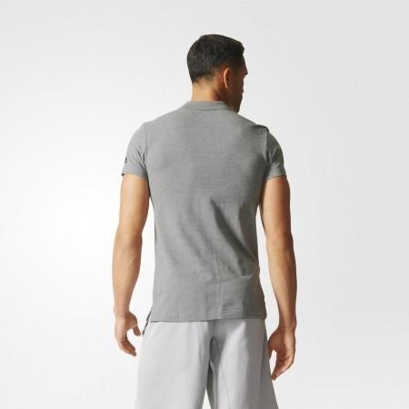 Мъжка тениска с яка - adidas ESS YD POLO - 10