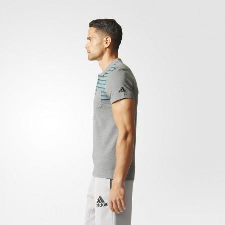 Мъжка тениска с яка - adidas ESS YD POLO - 11