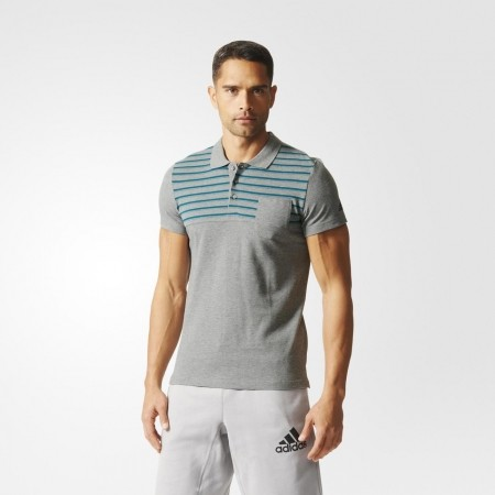 Мъжка тениска с яка - adidas ESS YD POLO - 9
