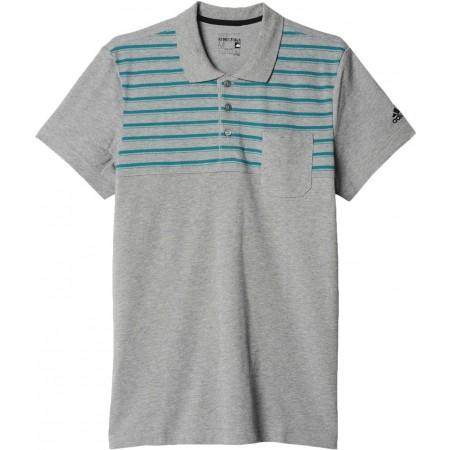 Мъжка тениска с яка - adidas ESS YD POLO - 7