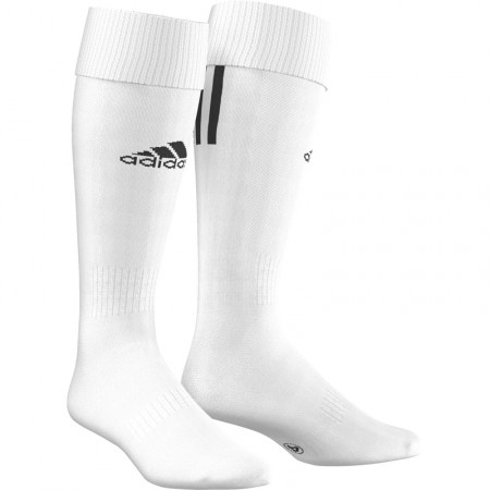 Jambiere de fotbal - adidas SANTOS 3-STRIPE - 1