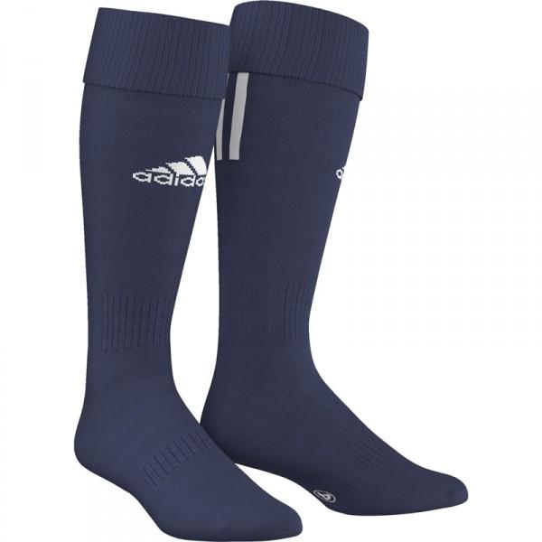 adidas SANTOS 3-STRIPE tmavo modrá 40-42 - Futbalové štulpne