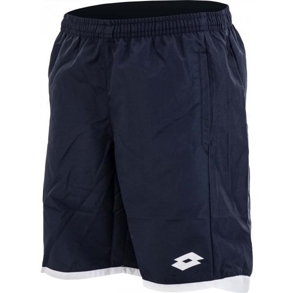 Lotto AYDEX II SHORT B tmavo modrá M - Chlapčenské športové šortky