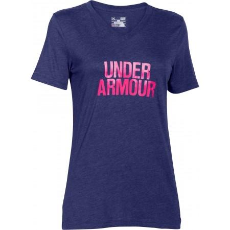 WORDMARK V-NECK - Dámske tričko s krátkym rukávom - Under Armour WORDMARK V- 9325f0ab915