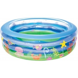 Bestway SUMMER WAVE CRYSRAL POOL - Надуваем басейн