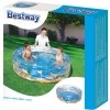 Надуваем басейн - Bestway TRANSPARENT SEA LIFE POOL - 2