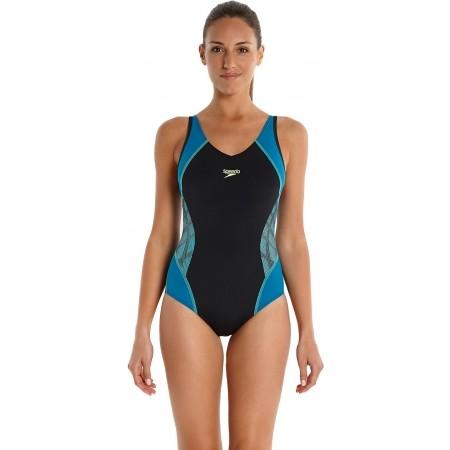 Dámské fitness plavky - Speedo SPEEDO FIT SPLICE MUSCLEBACK - 1 ea590c1568