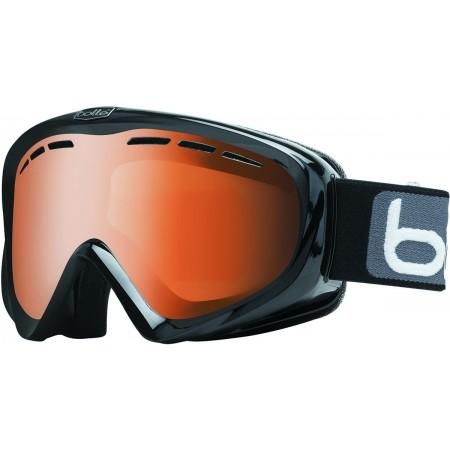 Y6 OTG VERMILLON BLACK MODULATOR – Gogle narciarskie dostosowane do noszenia pod nimi okularów korekcyjnych - Bolle Y6 OTG VERMILLON BLACK MODULATOR - 1