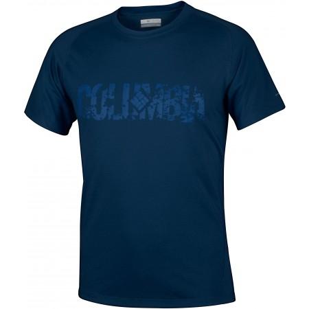 5b9fe9923bce Pánske antimikrobiálne tričko - Columbia MOUNTAIN TECH LOGO SS TEE - 1