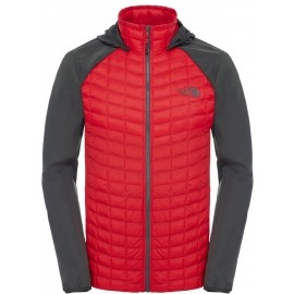 The North Face M THERMOBALL HYBRID HOODIE - Pánska bunda