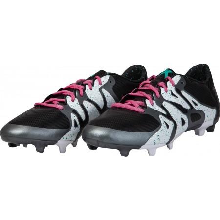 Ghete fotbal pentru bărbați - adidas X 15.3 FG/AG - 4