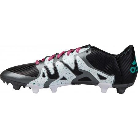 Ghete fotbal pentru bărbați - adidas X 15.3 FG/AG - 2
