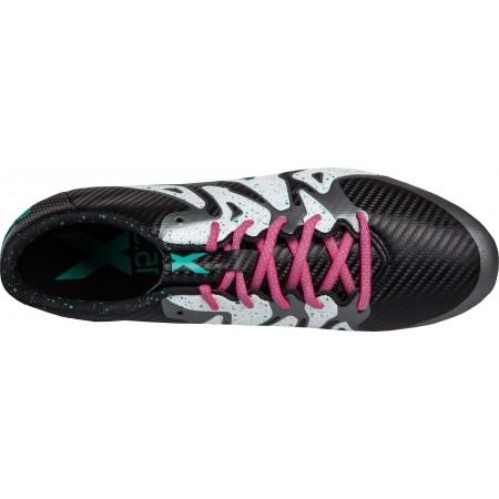 Ghete fotbal pentru bărbați - adidas X 15.3 FG/AG - 5