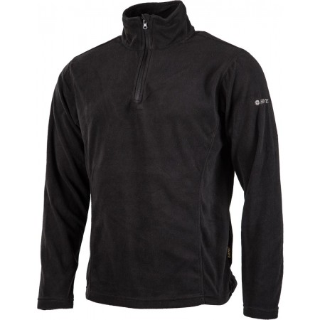 FANTO II BLACK FLEECE – Bluza męska - Hi-Tec FANTO II BLACK FLEECE - 2