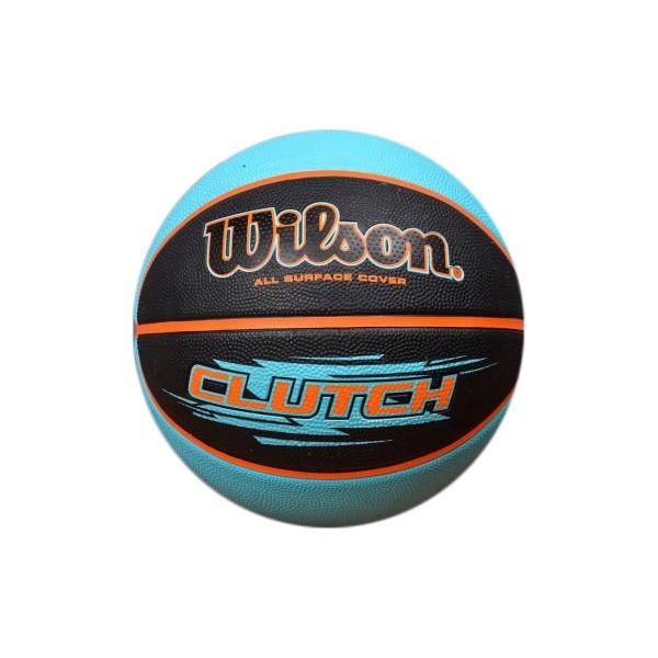 Wilson CLUTCH RBR BSKT BLAQU  7 - Basketbalový míč