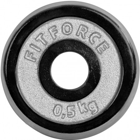 WEIGHT DISC PLATE 0,5KG CHROME - Fitforce WEIGHT DISC PLATE 0,5KG CHROME