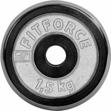 Nakládací kotouč - Fitforce NAKLÁDACÍ KOTOUČ 1,5KG CHROM