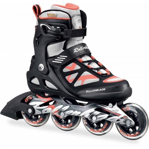Rollerblade SIRIO 84 W černá 22.5 - Dámské fitness brusle