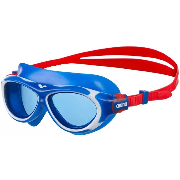 Arena OBLO JR niebieski  - Okulary pływackie dziecięce