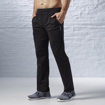 Pánské kalhoty - Reebok ELEMENTS JERSEY OPEN HEM PANT - 2