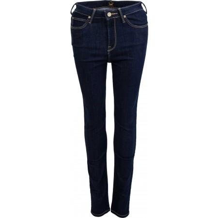 Dámské skinny jeansy - Lee SKYLER SOLID BLUE - 2